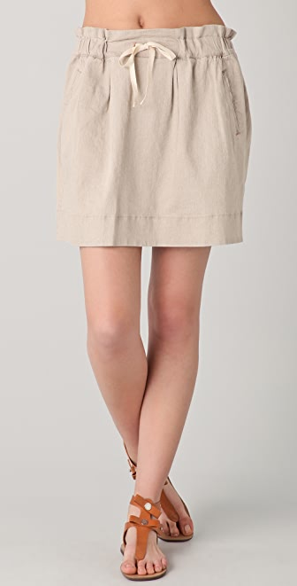 Marc by Marc Jacobs Cal Linen Skirt