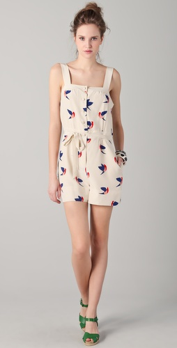 Marc by Marc Jacobs Finch Flight Romper