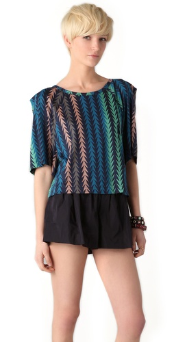 Marc by Marc Jacobs Arrowhead Print Top