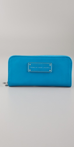 Marc by Marc Jacobs Too Hot To Handle Slim Zip Around Wallet