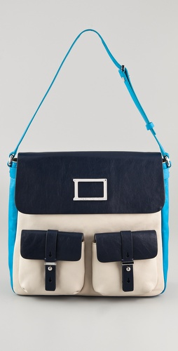 Marc by Marc Jacobs Werdie Colorblock Morgan Bag