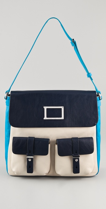Marc by Marc Jacobs Werdie Colorblock Morgan Bag