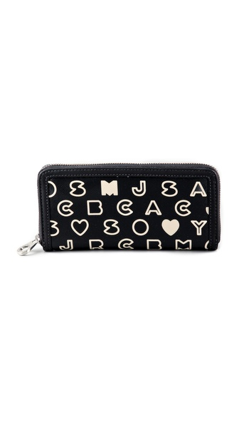 Marc by Marc Jacobs Slim Zip Around Wallet