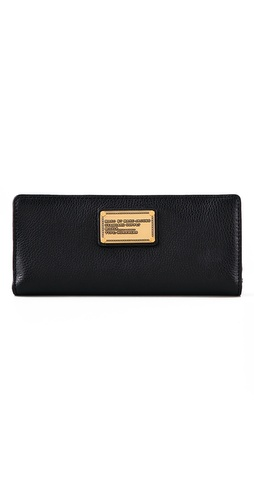 Shop Marc by Marc Jacobs Classic Q Fold Over Wallet and Marc by Marc Jacobs online - Accessories,Womens,SLGs,Wallets, online Store