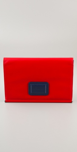 Marc by Marc Jacobs Bars & Bells Colorblock Evening Clutch