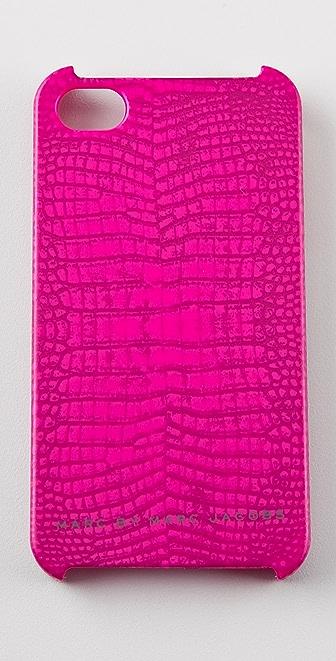 Marc by Marc Jacobs Croc iPhone Case