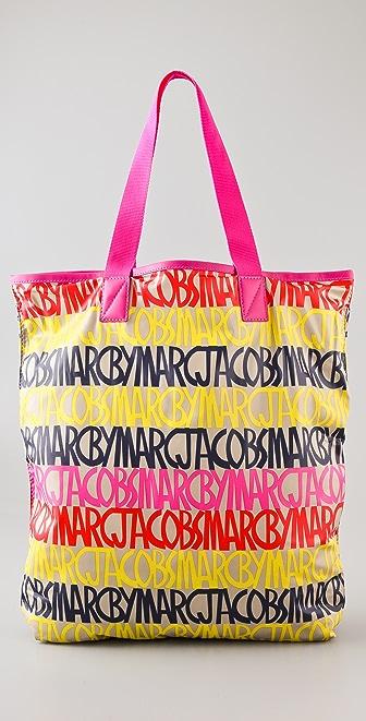Marc by Marc Jacobs Packables Linear Logo Shopper