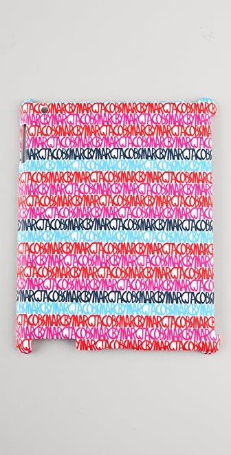 Marc by Marc Jacobs Linear Logo Tablet / iPad Snap Case