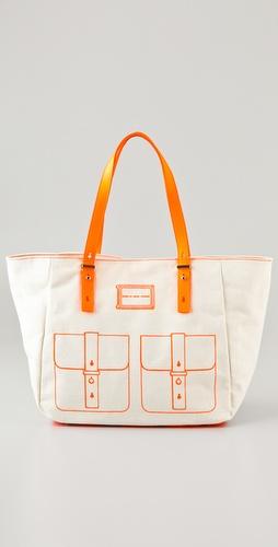Marc by Marc Jacobs Werdie Linen Tote