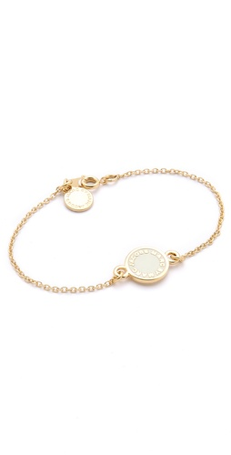 Marc by Marc Jacobs Dreamy Logo Enamel Disk Bracelet