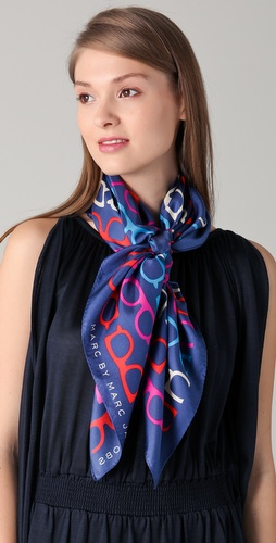 Marc by Marc Jacobs What A Spectacle Scarf