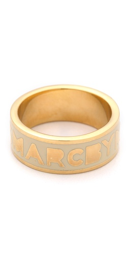 Marc by Marc Jacobs Dreamy Logo Band Ring