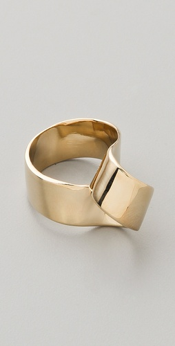 Marc by Marc Jacobs Metal Ribbons Twist Ring