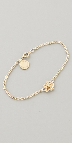 Marc by Marc Jacobs Flower Chain Tiny Bracelet