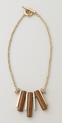 Marc by Marc Jacobs Pipe Dreams Triplet Necklace