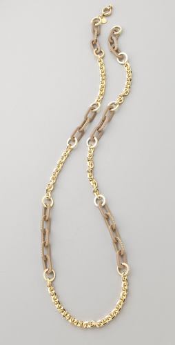 Marc by Marc Jacobs Fruits Long Pave Link Necklace