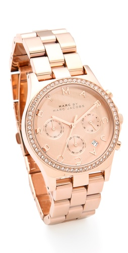 Marc by Marc Jacobs Henry Glitz Chronograph Watch at Shopbop.com
