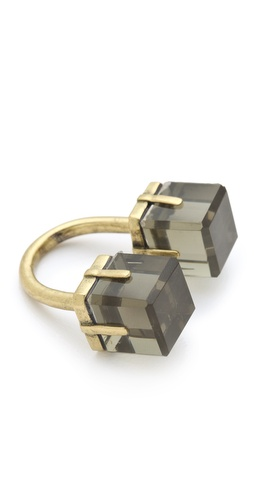 Marc by Marc Jacobs Cubes Double Vision Ring