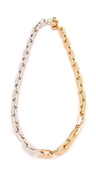 Marc by Marc Jacobs Mini Links Bicolor Link Necklace
