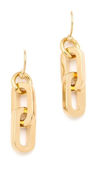 Marc by Marc Jacobs Mini Links Drop Earrings