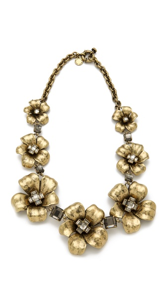 Marc by Marc Jacobs Marc Flowers Garland Necklace