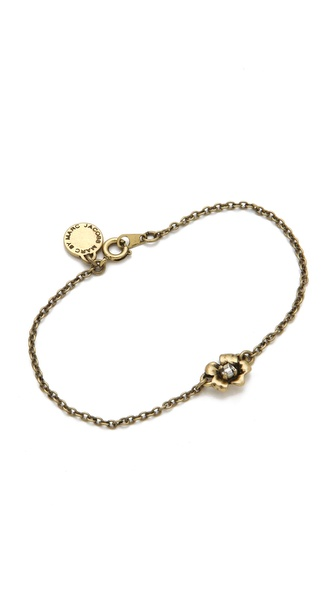 Marc by Marc Jacobs Marc Flowers Tiny Flower Bracelet