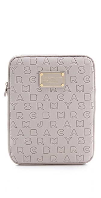 Marc by Marc Jacobs Dreamy Logo Neoprene Tablet Case