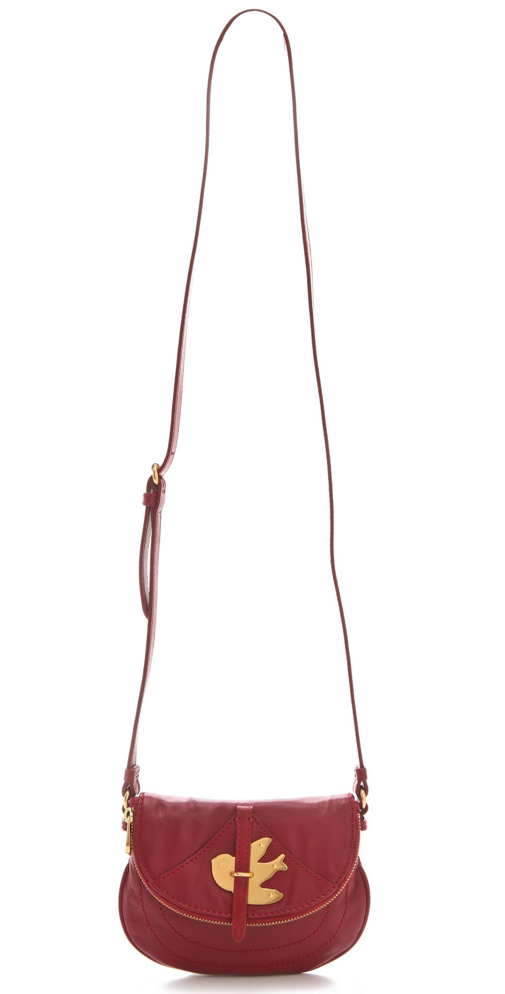 Marc By Marc Jacobs Petal To The Metal Flap Pouchette Black Shoulder Bag 86