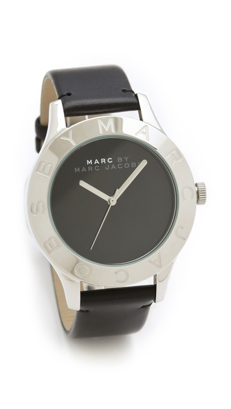 Marc by Marc Jacobs Blade Etched Logo Watch