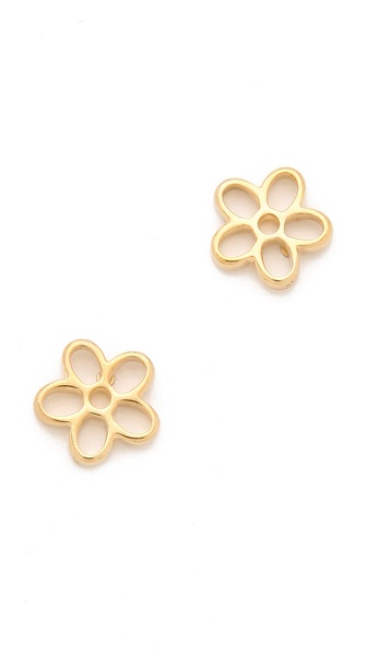 Marc by Marc Jacobs Cutout Daisy Stud Earrings