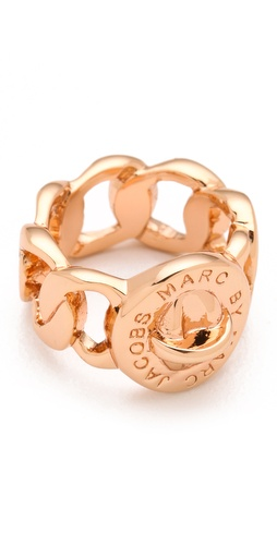 Shop Marc by Marc Jacobs Katie Turnlock Ring and Marc by Marc Jacobs online - Accessories,Womens,Jewelry,Rings, online Store