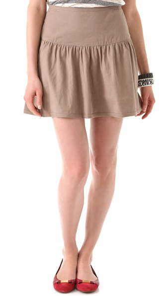 Marc by Marc Jacobs Terra Linen Cotton Skirt