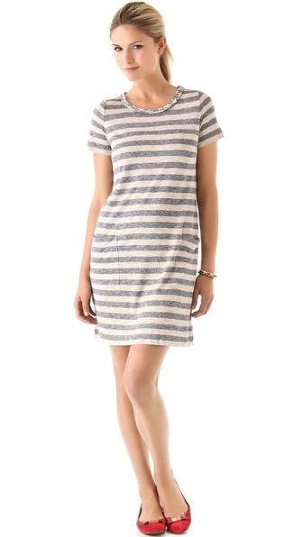 Marc by Marc Jacobs Pebble Stripe Dress