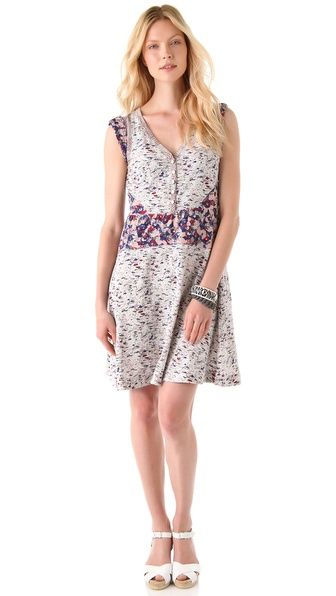 Marc by Marc Jacobs Mokume Floral Dress