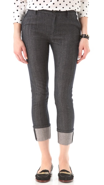 Marc by Marc Jacobs Vanya Herringbone Pants