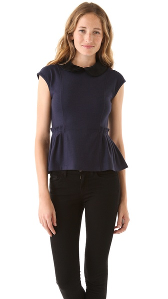 Marc by Marc Jacobs Wallis Wool Knit Top