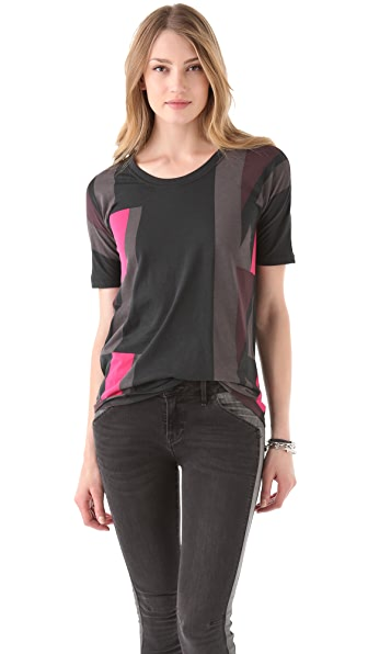 Marc by Marc Jacobs Roxy Colorblock Tee