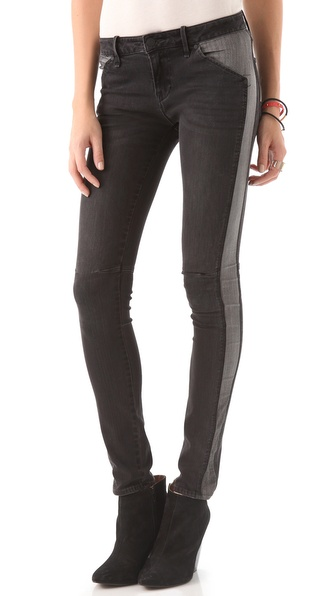 Marc by Marc Jacobs Standard Supply Seamed Skinny Jeans