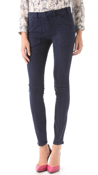 Marc by Marc Jacobs Standard Supply Military Legging Jeans