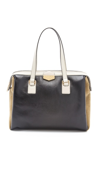 Marc by Marc Jacobs Spot On Colorblocked Large Satchel