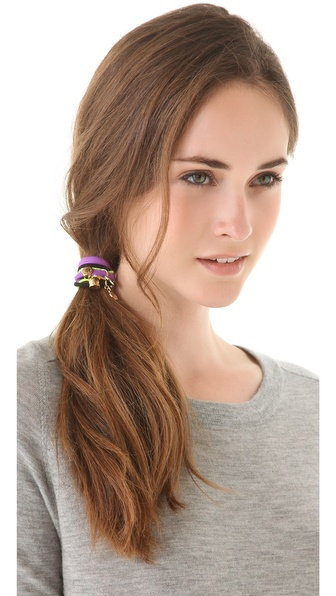 Marc by Marc Jacobs L'Amour Fou Mixed Cluster Hair Tie Set