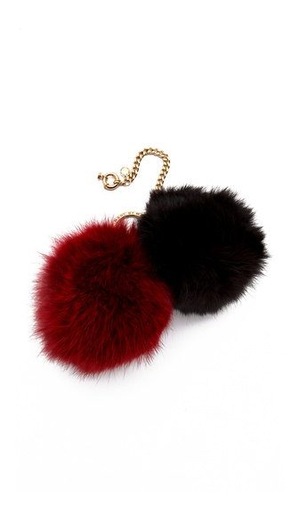 Marc by Marc Jacobs Pom Pom Keychain
