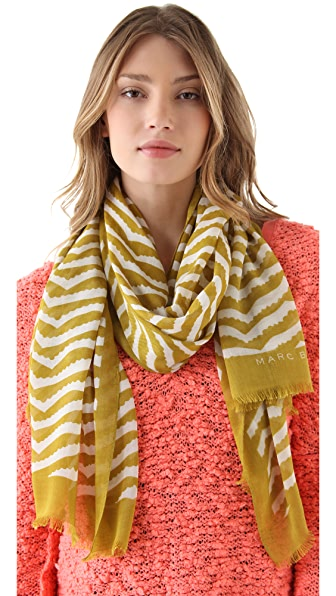 Marc by Marc Jacobs Zora Stripe Scarf