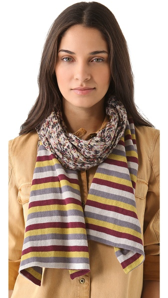 Marc by Marc Jacobs Georgie Tweed Sweater Scarf