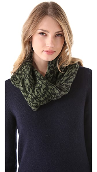Marc by Marc Jacobs Graphic Animal Print Collar Scarf