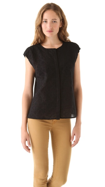 Marc by Marc Jacobs Opal Embroidery Top