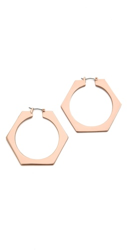Shop Marc by Marc Jacobs Bolt Slice Hoops and Marc by Marc Jacobs online - Accessories,Womens,Jewelry,Earring, online Store
