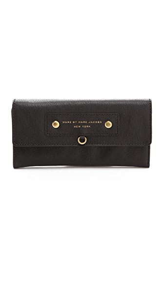 Marc by Marc Jacobs Preppy Leather Continental Wallet
