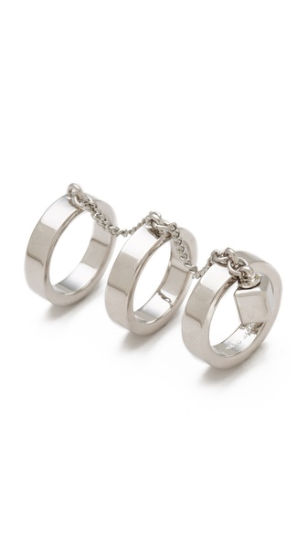Marc by Marc Jacobs Triple Threat Ring
