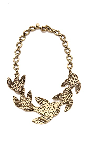 Marc by Marc Jacobs Petal to the Metal Flock Necklace